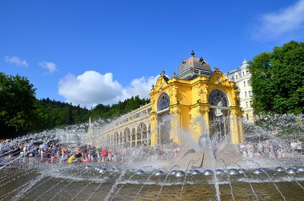 捷克音樂噴泉