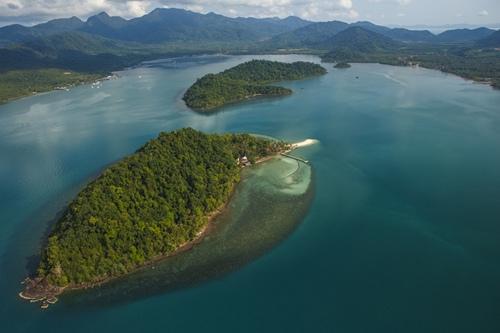 象島的度假島嶼