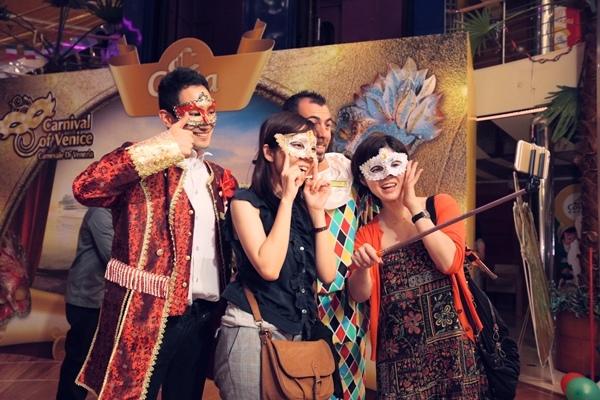 義式風情主題派對-圖說:原汁原味的威尼斯面具之夜.jpg