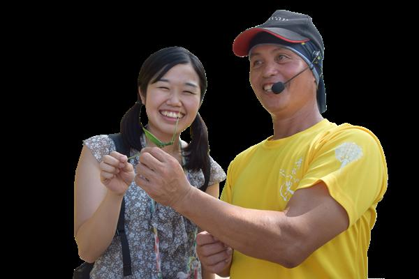導覽志工沿途詳細解說生態外,並傳授手作可愛童趣.png
