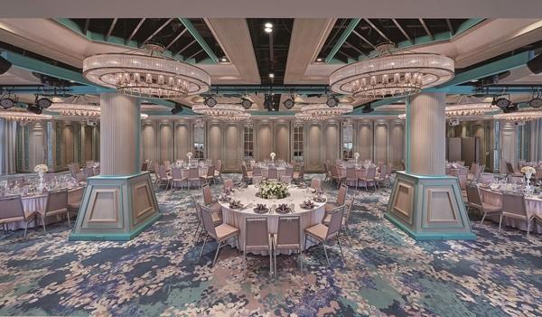 1 搶攻全年近千億元結婚商機,台北六福萬怡酒店推一站式服務,不僅是美味又氣派的筵席,還跨界合作打造夢幻婚禮。(圖/六福旅遊集團提供).jpg