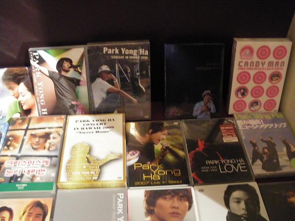我真的很想收藏演唱會DVD...
