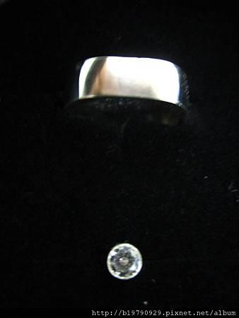 CZ耳環&方圓尾戒2