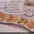 日式炸麻糬 / 手繪美食