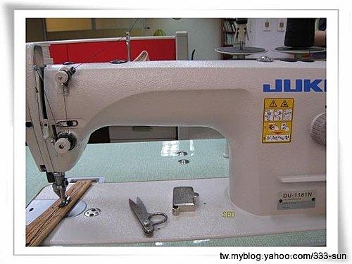 工業用上下送雙壓腳自動加油式平車(JUKI DU-1181N)~適用於皮革.帆布包等厚重物