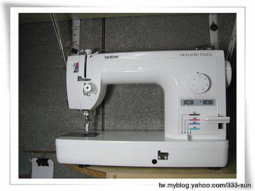 Brtoher PQ1500S直線縫半職業縫紉機