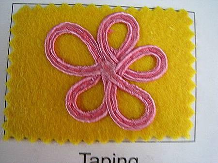 手搖式人字縫繡花機