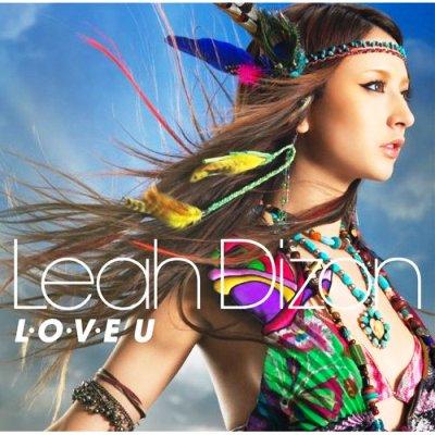 Leah Dizon-L・O・V・E U專輯封面(初回限定盤)(DVD付).jpg