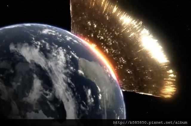 隕石撞地球-PM