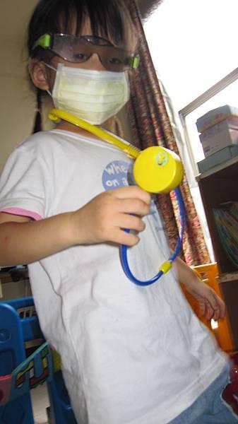 想當醫師!