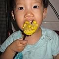 超愛吃玉米