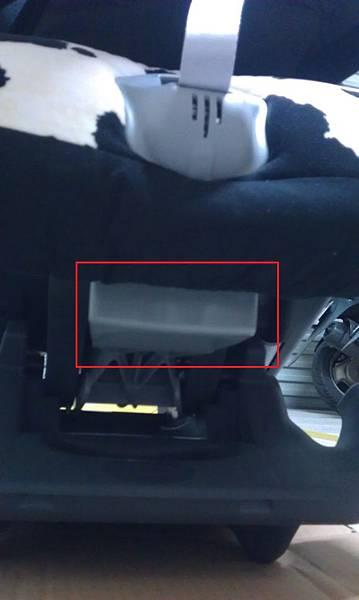 調整安全座椅斜度
