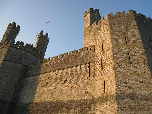 黃昏下的城堡