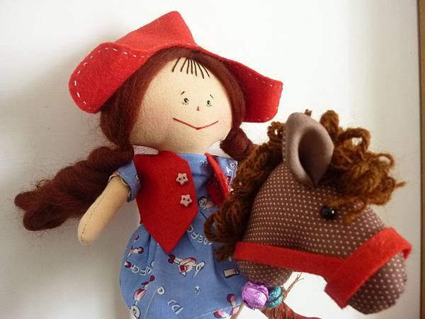 我的娃兒~牛仔麗塔