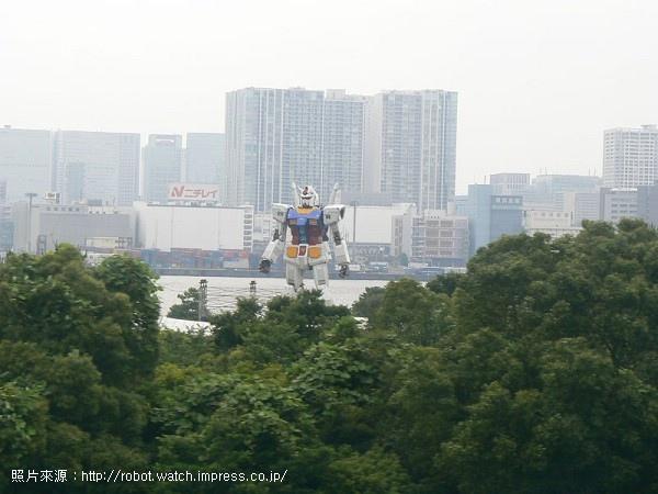37.乘坐百合海鷗號由「船的科學館」至「台場」的區間中可以看到鋼彈.jpg