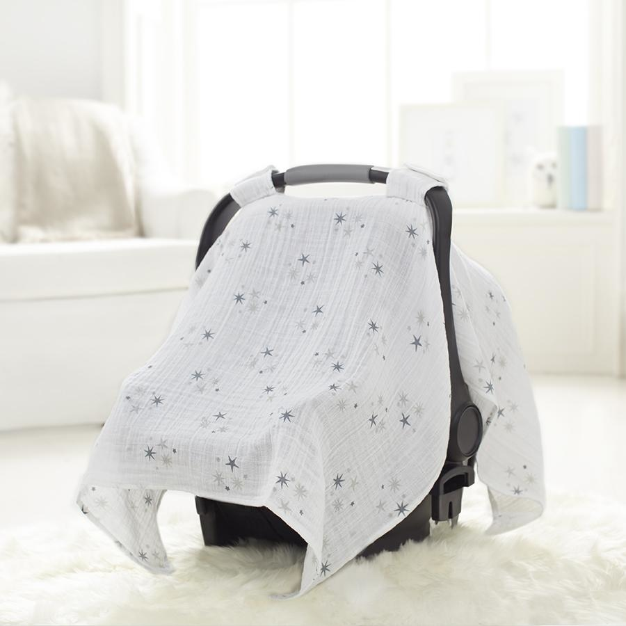 7305_3-car-seat-canopy-muslin-grey-star-twinkle