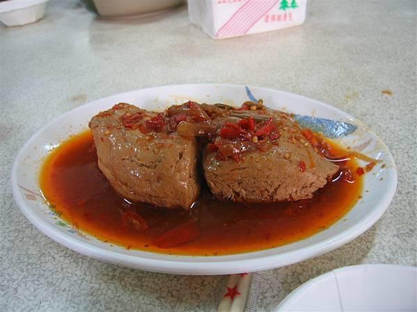 廟口豆腐之麻辣豆腐.........好吃