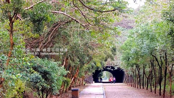 竹崎子母隧道