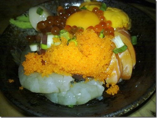 比熊犬~金泰食品--超豪華的海鮮蓋飯!! 4