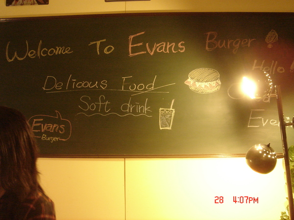 有特色的黑板