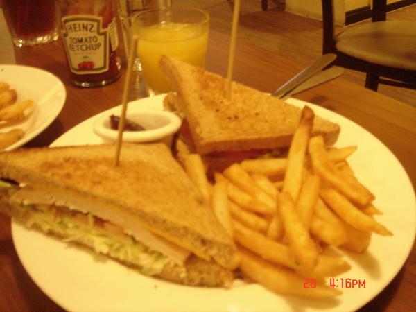 燻雞三明治