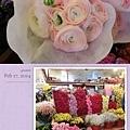 分享~這次韓國之旅~ 意外發現韓國鮮花巿場 這可以用來挷捧花的鮮花材 真的好美好浪漫~好喜歡喲 可惜帶不回來滴說~