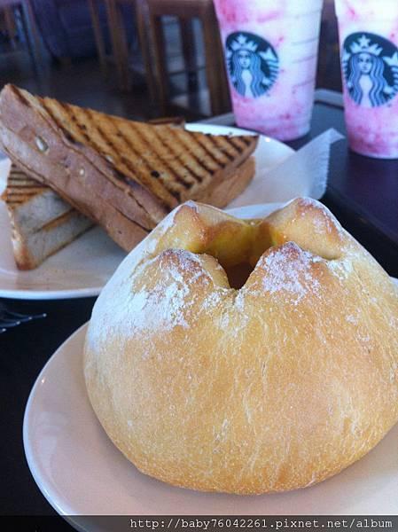 南瓜乳酪麵包