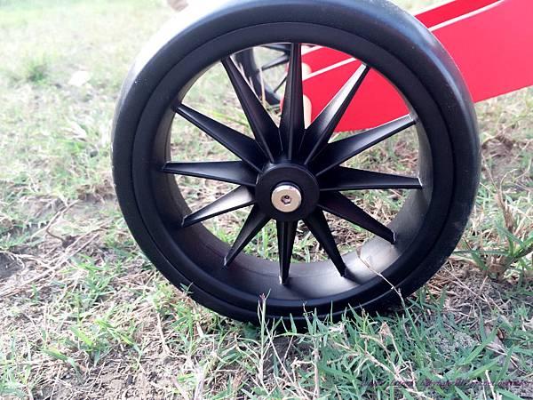 Kinderfeets滑步車,EVA輪胎