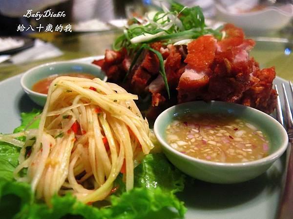 8.鳳梨紅咖哩烤鴨