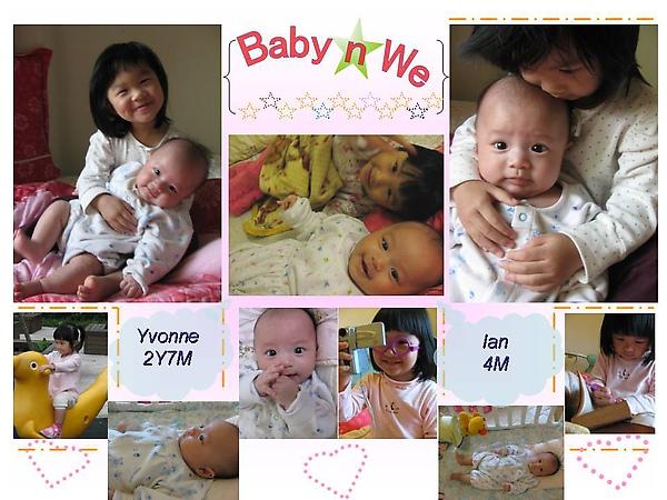 Yvonne 2Y7M & Ian 4M