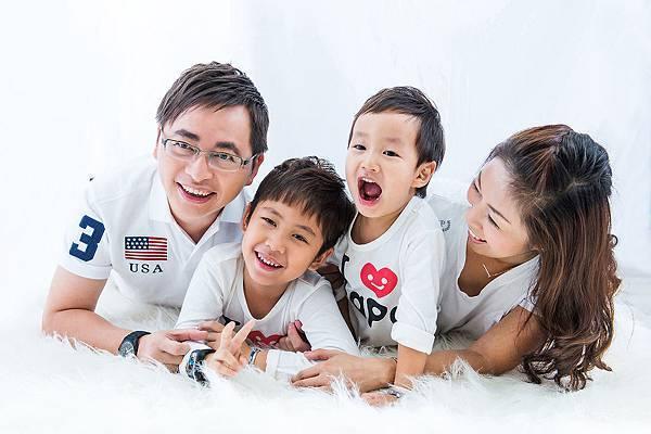 親子照-4人小家庭-全家福親子裝