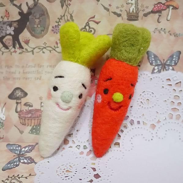 哀傷蔬菜 紅白蘿蔔