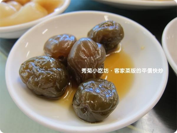 秀菊小吃坊・客家菜版的平價快炒4