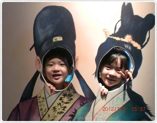 兒童在臺灣歷史博物館百年特展