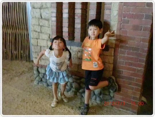 兒童參觀農村
