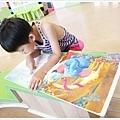 小孩看兒童讀物