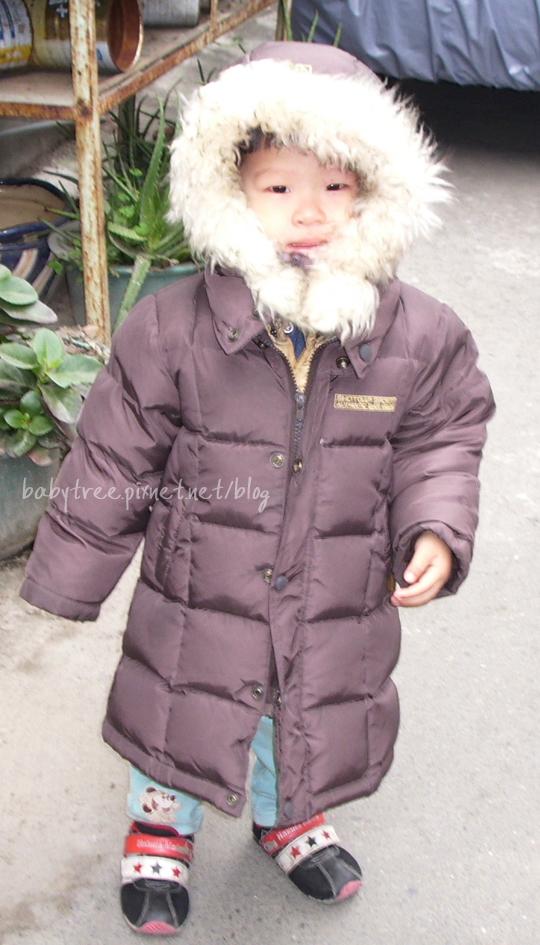 兒童羽絨衣