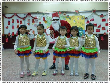 幼稚園中班耶誕節表演