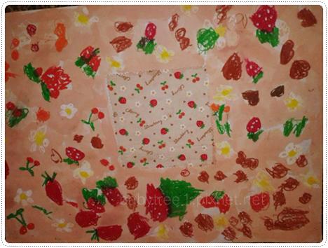 幼兒園中班美術作品