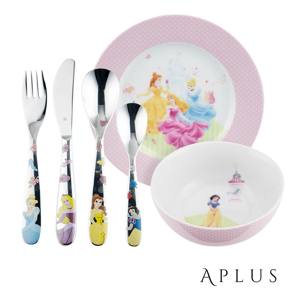 不鏽鋼兒童餐具6件組(公主).jpg