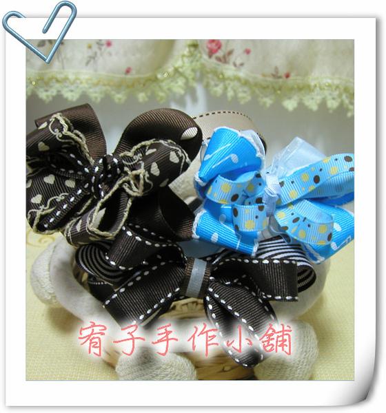 藍色蝴蝶&可可色系氣質風小公主髮箍.jpg