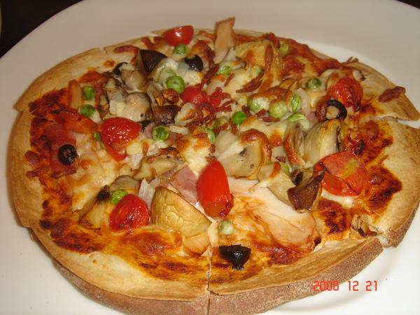 培根磨菇雞肉PIZZA