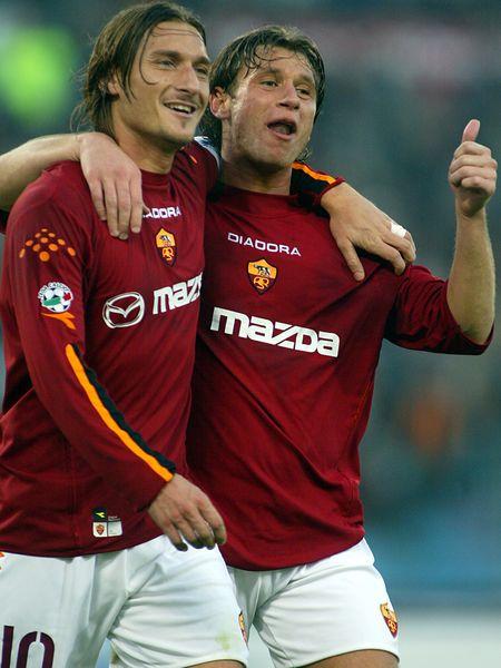 Cassano與Totti
