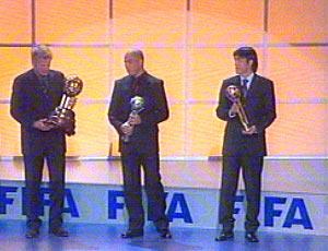 2002世界盃頒獎台