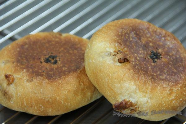 核桃紅豆麵包-027