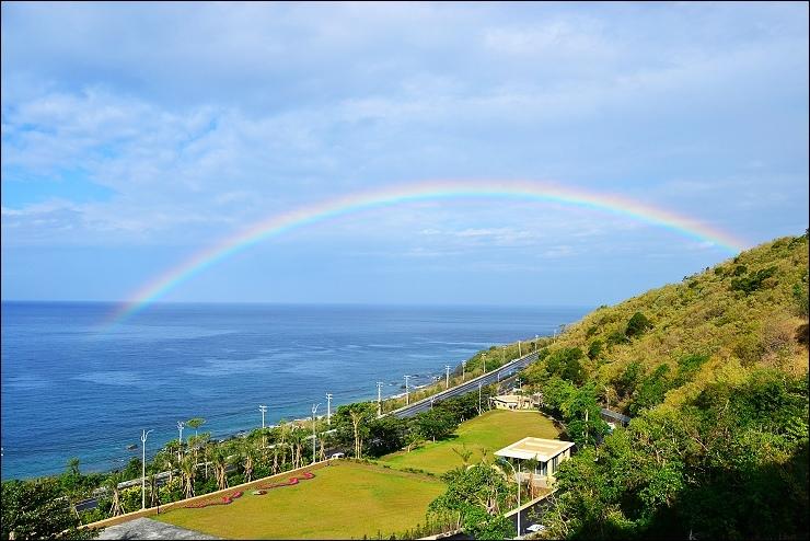 婚禮大草原 彩虹
