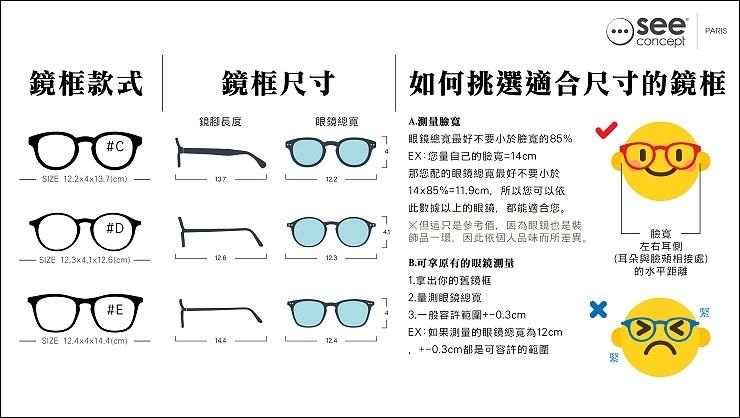 眼鏡測量說明