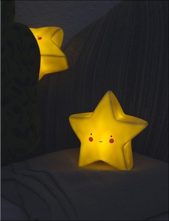 荷蘭療癒睡意 星星夜燈