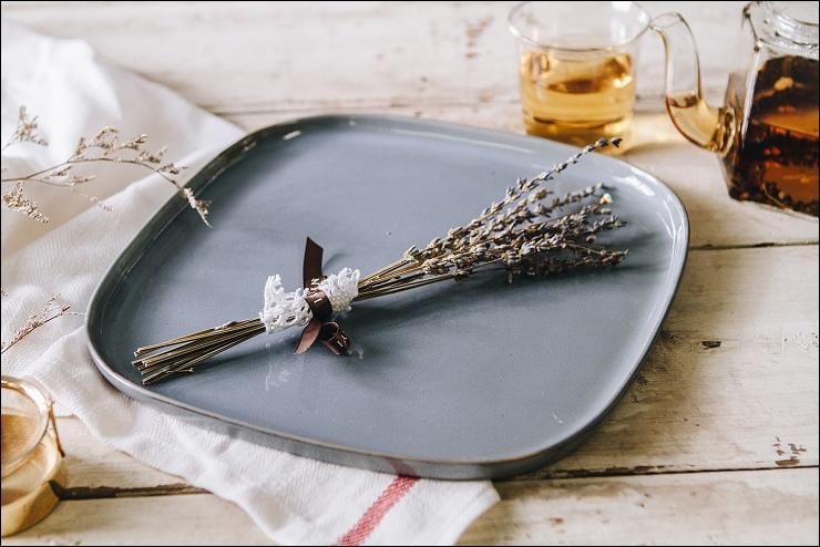 比利時 SERAX 暖瓷餐廚 派對方形淺盤 薄青