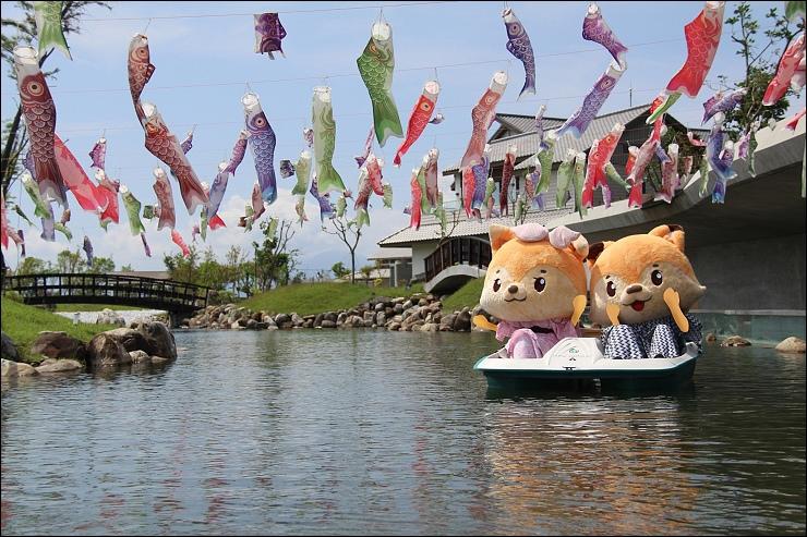 吉祥物遊湖1
